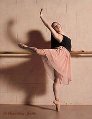 DSC_0602b wm web (Susan Day-Jeschke) Tags: dance contemporary ballet pose posing balletshoes toeshoes jumps leaps leotard skirt barre