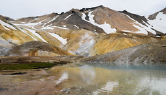 Colors of a volcano (danielfj91) Tags: mountain snow hot nature water landscape volcano iceland spring highlands cloudy hiking steam kerlingarfjll