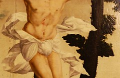 un perizonium, des perizonia (1) (canecrabe) Tags: christ croix crucifixion peinture renaissance wroclav musee brzeg