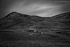 Auld Bothy LE (Damon Finlay) Tags: nikon d750 nikond750 tamron 2470 f28 tamron2470f28 perth kinross perthandkinross monochrome lee big stopper leebigstopper black white blackandwhite silver efex pro 2 silverefexpro2 nik collection nikcollection highlands islands highlandsandislands scottish scottishhighlands long exposure longexposure ruins bothy