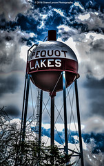Pequot Lakes Minnesota Water Tower HDR (Shane_Larson) Tags: pequot lakes minnesota water tower bobber hdr