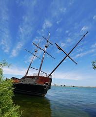 La Grande Hermine 3 (foxtail_1) Tags: lagrandehermine thebigweasel jordanharbour shipwreck