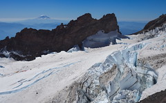 Ingraham Glacier (Sergiy Matusevych) Tags: mt mount rainier climbing hiking mountaineering friends wa washington national park mountains adams glacier crevasse olympusmzuikodigitaled1240mm128toppro