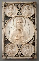 St John the Baptist and Saints (Peter Owen) Tags: victoriaandalbertmuseum victoria albert museum london john baptist saints philip stephen andrew thomas