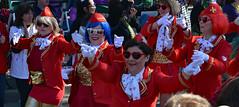 Ladies in Red (BKHagar *Kim*) Tags: bkhagar mardigras neworleans nola la louisiana red glasses sunglasses heart heartshaped parade ladies girls women troup fun celebration carnival