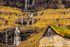 Simple Saksun (West Leigh) Tags: faroeislands farm waterfall nature naturalbeauty simple simplicity moss house rural freedom free travel travelphotography tranquil explore experience discover dream wanderlust wander