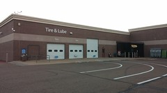 Tire & Lube... (Retail Retell) Tags: hernando ms walmart desoto county retail project impact supercenter store 5419 remodel black dcor 20 icons exterior