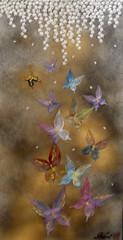 - Butterfly (/Zoom) (Minori Shimizu - Kyo Origami) Tags:                          minori shimizu artist kyoorigami origami art japanese giapponse italia bologna fiori di ciliegio buterfly fog temple susuki gold