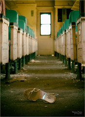 abandoned train car (marneejill) Tags: abandoned train car womans shoe eery desolate sad story