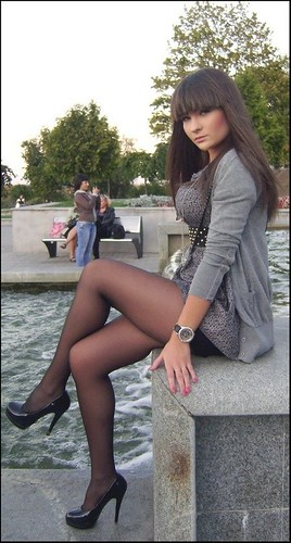 0b84413a43fd2 Dark Pantyhose and Lovely Legs - a photo on Flickriver
