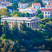 Temple of Hephaestus from Areopagus, Athens