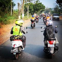 Hari ini di tahun 2015 Bakauheni lampung otw lampung ride my fino enzo fi with @jakartamaxowners @finoownersina @ohlinsindonesia @ohlinsracing @abidin_san @eddysaputra @yamahaindonesia @yrfindonesia #jakartamaxowners #finoownersindonesia #indonesiamaxowne