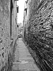 alley pathway (Ket Lim) Tags: shanghai china travels blackandwhite asia trips monochrome nanjing suzhou pudong bund canal xitang hangzhou travel streets