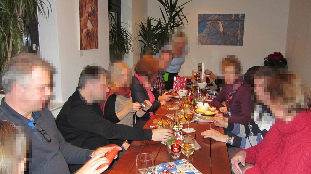 Stammtisch, Charles Dickens Festival in Blomberg, Medien-Wichteln