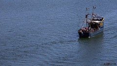 Ships Ahoy! (Clayton Perry Photoworks) Tags: vancouver bc canada summer southgranville explorebc explorecanada boats pirateship pirateadventures