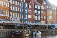 Nyhavn early morning (nprisadnikov) Tags: nyhavn copenhagen carlzeissjenasonnar135mmf35 colors boat early