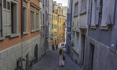 Zurich's Streets (Phil Maddison) Tags: zurich street colour photography canon 40d efs1022mm scene switzerland