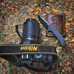Going to the fair. (jmann8686@yahoo.com) Tags: leatherandknives wallet knife ztknives everydaycarry edc d3300 nikond3300 nikon iphonephotography iphoneography iphone