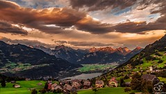 First Rays (BeNowMeHere) Tags: ifttt 500px trip alps firstrays landscape nature sky sun sunrise switzerland clouds mountain suisse swiss travel