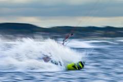 Kitesurfing (__db_) Tags: wind laboe ostsee strand mitzieher wasser gischt sport spritzer kitesurfer wellen schnell wassersport kiter schleswigholstein deutschland de