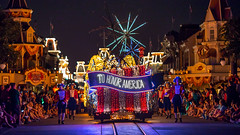 Magic Kingdom - To Honor America (Jeff Krause Photography) Tags: america celebrate crowd disney electrical float honor kingdom light magic main night parade park patriotic people street usa viewing wdw walt watch world theme orlando florida unitedstates us