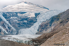 Pasterze glacier (Pe_Wu) Tags: gemeindeheiligenblut kärnten austria grossglockner hochalpenstrasse high alpine road mountains alps glacier pasterze ice snow johannisberg peak at
