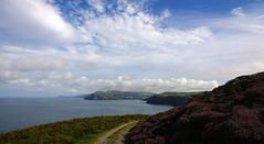 Looking towards Port Erin. (Chris Kilpatrick) Tags: chris outdoor nature calfofman isleofman irishsea water bluesky clouds porterin nokialumia1020