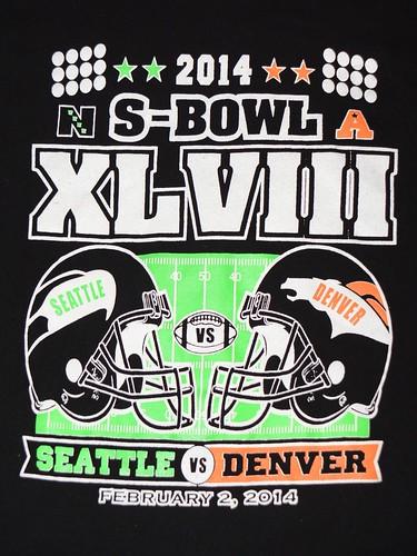 Super Bowl 48 Graphic Tee
