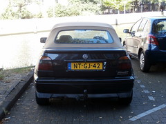 Volkswagen Golf 3 cabrio 1996 (a.k.a. Ardy) Tags: ntgj42 softtop