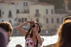 We love Canon <3 (Imaginarium 2.1) Tags: love canon chania oldharbour port click sea sun girl bvs bazilvansinner bazilvansinnerphotography crete greece liveyourmythingreece luck