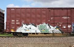 Each (quiet-silence) Tags: graff freight train railroad railcar art graffiti fr8 each bnsf boxcar bnsf761865