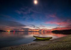 Under the stars (www.chrisbirds.com) Tags: sunset canon samui thailand island nature boat beach chrisbird fun sky paradise wwwchrisbirdscom water travel
