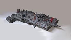 Divulgence (wilfordandmalia) Tags: divulgence lego moc space spaceship ship syfy gun custom