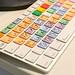Bunte Apple Tastatur für Fotografen