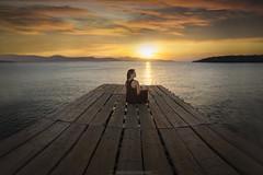 Magic Light (Doc1355) Tags: nikonflickrtrophy brenizer landscape greece sunset magic light clouds seascape nikon d7000