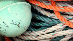 Ropes and buoy (patrick_milan) Tags: buoy bouy bouey bhoy bhouy float bouee flotteur boei boj boja boya boje bojen boia boa poi poiju bauja dufl pelampung plude flyteboye plovecsamandira rope cordage aussire accastillage boue hublot porthole bout taquet latch