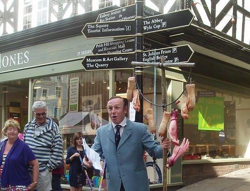 Tour guide shrewsbury
