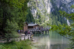 Alto Adige (Italy) - Lago di Braies (Pragser Wildsee) (Massimo Battesini) Tags: nationalgeographic worldtrekker fujifilmxt1 fuji xt1 fujixt1 fujifilm finepix fujinon fujinonxf18135 fuji18135 fujifilmfujinonxf18135mmf3556rlmoiswr lago lake lac see acqua water eau agua montagna montagne dolomiti mountains montaas berg dolomite dolomitas dolomites alpi alpes alps alpen braies trentinoaltoadige italia it italy italie italien europa europe lagodibraies pragserwildsee