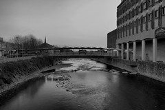 River Afan Port Talbot Monochrome HDR (Tyrone Williams) Tags: longexposure nightphotography bridge blackandwhite water monochrome night canon reflections river flow mono moving movement exposure stonework monochromatic motionblur 7d manual hdr magiclantern nightexposure bridgeoverwater afan aberavon longexposures porttalbot 100iso nightimage canon1740lf4 nighthdr canon1740lf4usm isnight canonwater canon7d riverafan 7dcanon canonblackwhite
