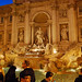 Car Hire Rome. Trevi Fountain at Night