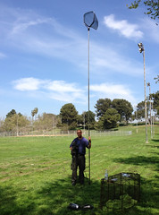 The longest pole I could find  :-) (Eldad Hagar (Please support Hope For Paws)) Tags: justclouds