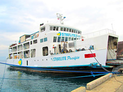 M/V Starlite Pacific (*Irvine*) Tags: ocean trip travel sea ferry port marina island pier dock asia barco sailing ship pacific time philippines tourist cargo route arrive trips filipino voyager passenger batangas pinay filipina boracay southeast float backpacker departure ferries bora pinoy bollard roro visayas dagat montenegro pilipinas caticlan voyages traveler roxas berth turista anchored moored ply barko 2go odiongan karagatan mandaragat byahero manlalakbay
