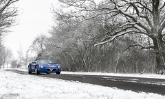 VX220 in the Snow (ason) Tags: uk blue winter white snow cold tree landscape photography lotus elise freezing automotive professional pro cambridgeshire eastanglia vauxhall vx220 2013 tamron1750f28 canoneos400ddigital type116 jasonpatel wwwjasonpatelcouk