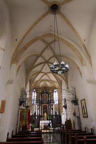 Wnętrze kościoła św. Barbary w Strzegomiu