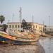 Boats in Saint Louis, Senegal