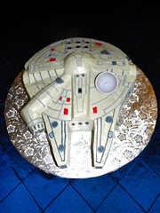 Falcon ship (SweetTreets) Tags: weddingcake groomscake