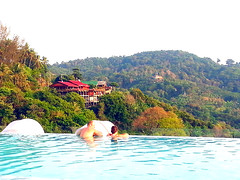 Fantastic Swimming Pool with nice view (Jack Park) Tags: phuket