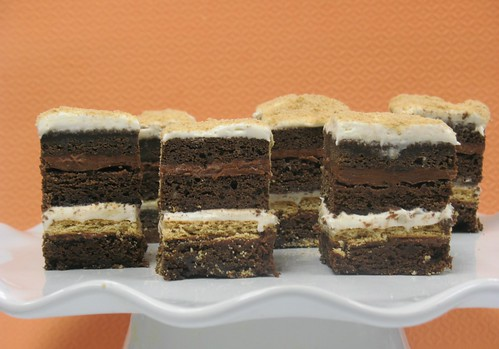 [Image from Flickr]:Petit Four SMores