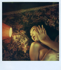 Lala (philippe bourgoin) Tags: polaroid sx70 expired lala fade2black fourlines stealingshadows
