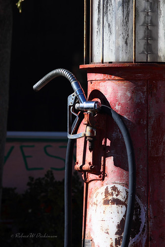 Gas Pump Nozzle in Chloride, Arizona